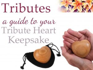 watch the video guide to our Tribute Heart Keepsake
